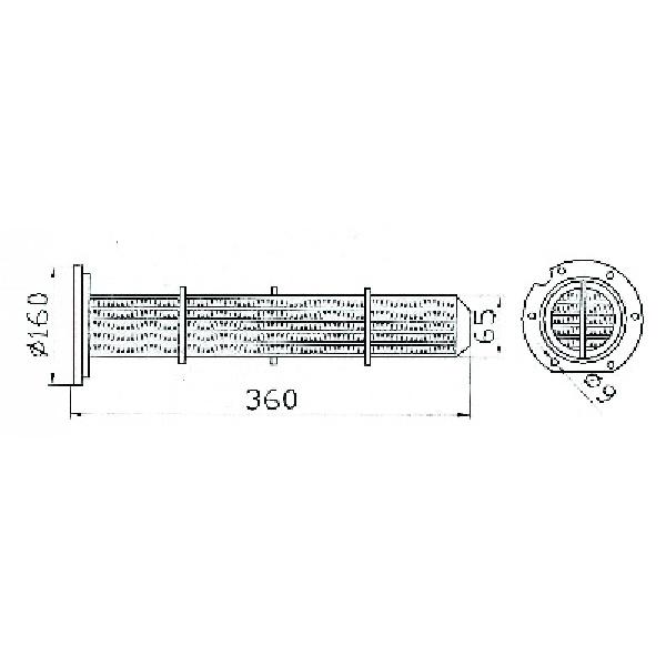 RU 431 Cartus termoflat Raba